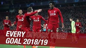 Every Divock Origi goal from 2018-19 | Everton, Barcelona, Tottenham