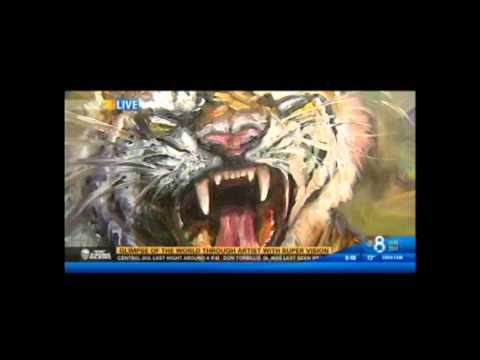 Concetta Antico Tetrachromat Art on KFMB TV (2)