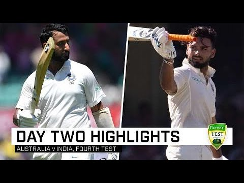 Pujara And Pant Pile On The Pain | Fourth Domain Test