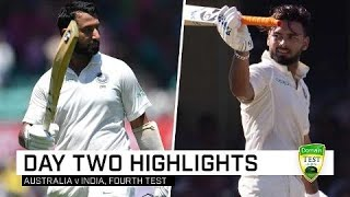 Download Pujara and Pant pile on the pain   Fourth Domain Test Mp3 and Videos
