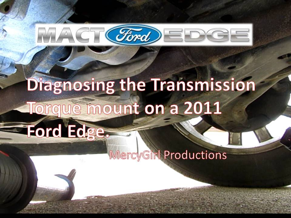 Testing The Condition Of The Transmission Torque Mount On