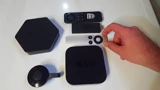 Apple TV vs Chromecast vs Amazon Fire TV vs Android Box