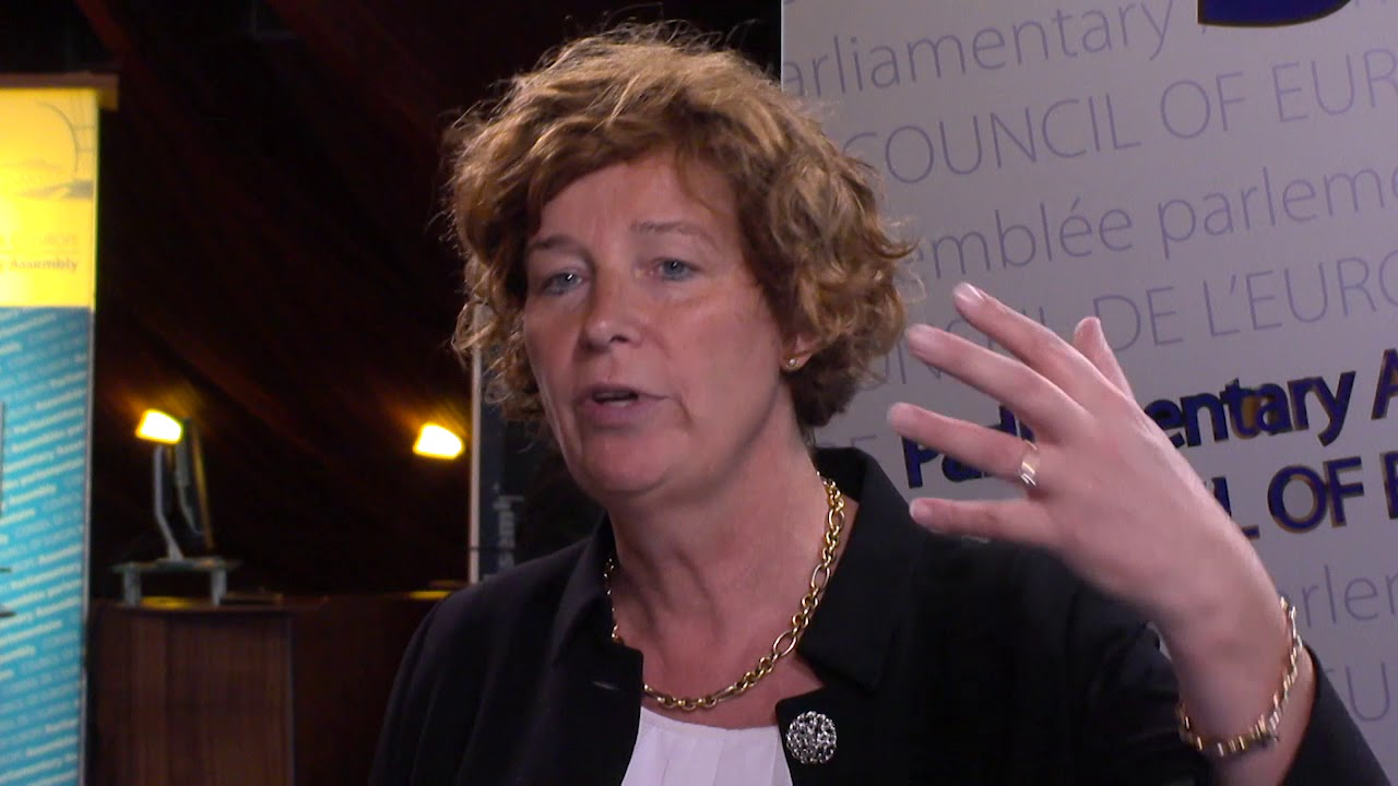 Petra De Sutter Parliamentary Assembly Needs To Keep Dialogue With Russia YouTube