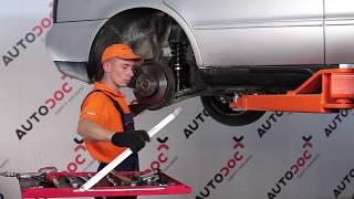 Wie AUDI A4 (8D2, B5) Lagerung Radlagergehäuse austauschen - Video-Tutorial