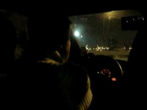 Moscow cab ride