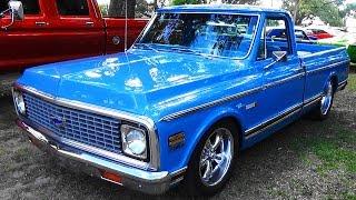 1972 Chevy C/10 454 Cruisin' The Coast 2015