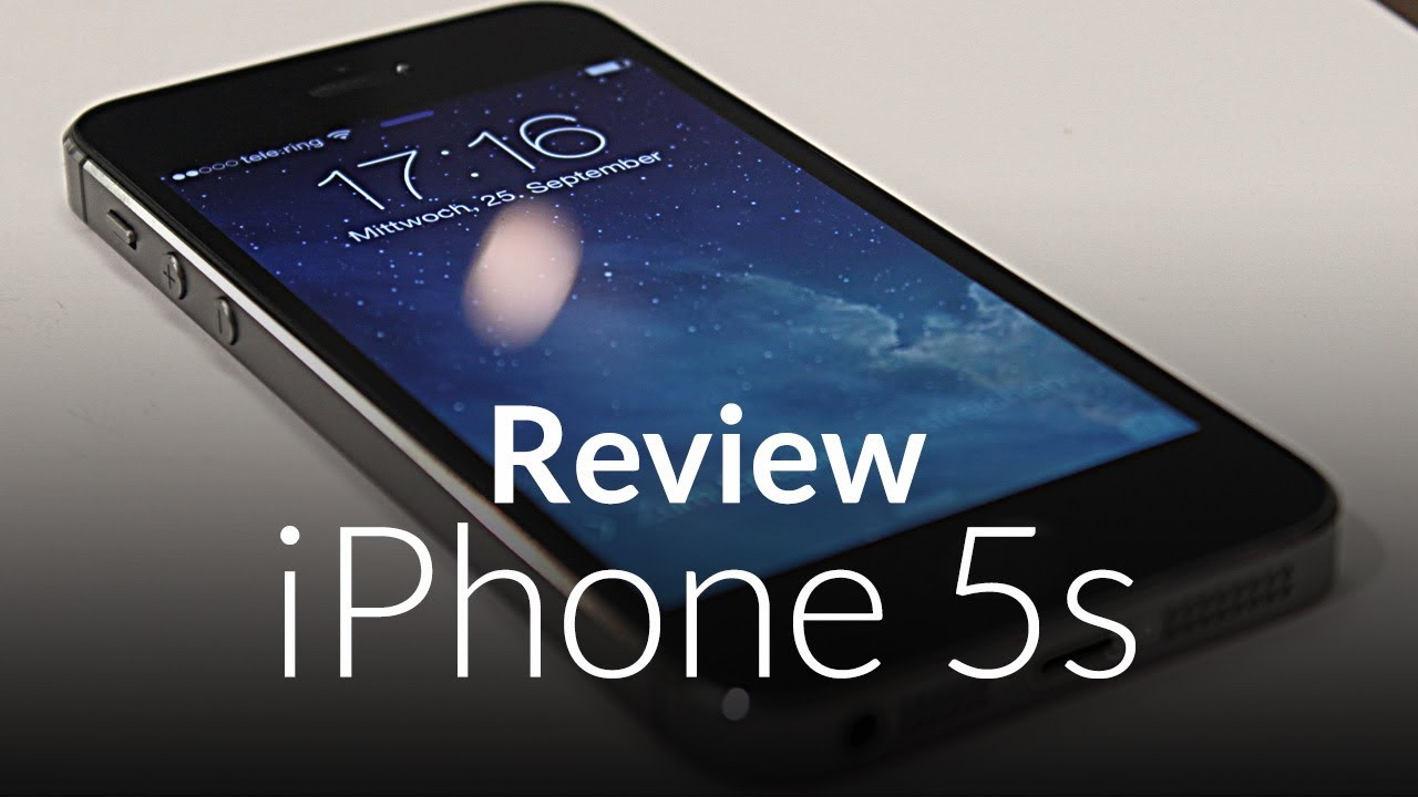 iphone 5s reviews iphone 5s review spacegrey test german 11243