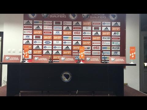 Press konferencija nakon utakmice BiH - Gibraltar