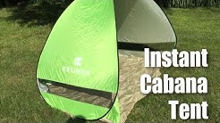 Keumer G4Free Outdoor Instant Automatic Pop up Portable 2 person Cabana Beach Tent