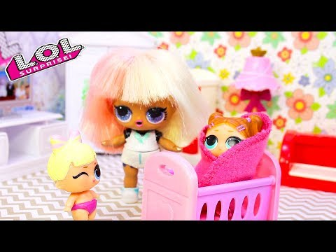 СЕМЕЙКА Куклы ЛОЛ Сюрприз | смешные мультики #42 LOL Surprise Dolls