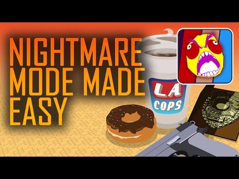 LA Cops - Nightmare Mode Difficulty Walkthrough | Achievement Guide