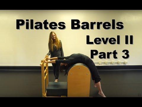 Upside-Down Pilates - Level II Barrels Part 3 of 3