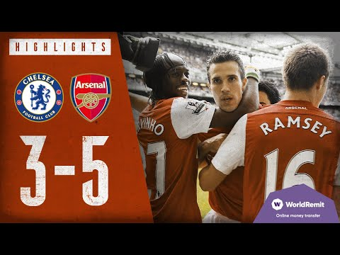 VAN PERSIE WITH A HAT-TRICK | Chelsea 3 -5 Arsenal | Classic Highlights 2011