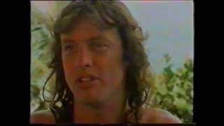 AC/DC Rock In Rio 1985 - Interview.