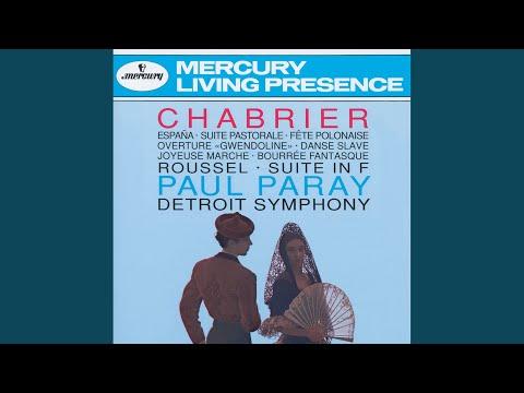 Chabrier: Suite Pastorale - 2. Danse Villageoise