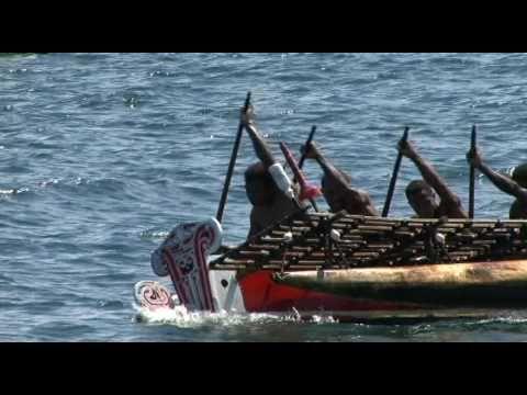 Papua New Guinea Kula Canoe Race