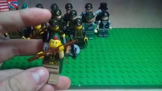 Лего фигурки Второй Мировой Войны #2 Армии стран союзниц