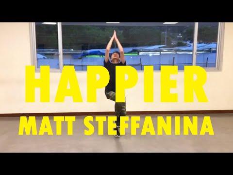 """HAPPIER"" - Marshmello - Dance Cover | Matt Steffanina & Bailey Choreography"