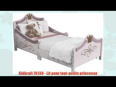 kidkraft 76139 lit pour tout petits princesse youtube. Black Bedroom Furniture Sets. Home Design Ideas