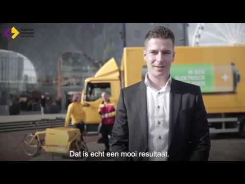 Marijn Slabbekoorn - DHL Express - Finalist Jong Logistiek Talent