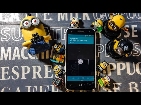 Alcatel Pixi 3 Minions Incoming Call + Phone Review