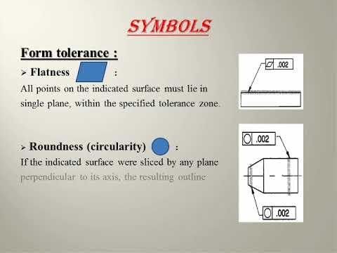 Tolerance Suraface Finish And Its Symbols Mechanical Engineering