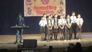 Welcome Song On Piano ll Annual Day ll In My School ll