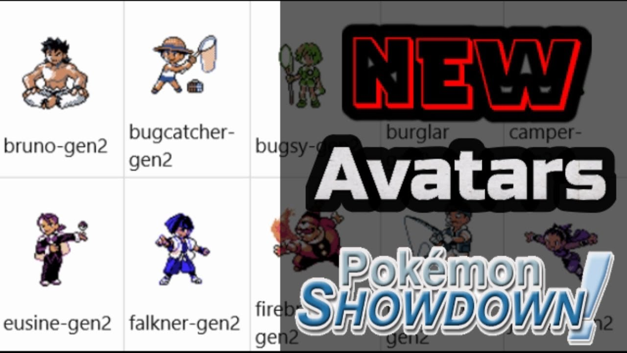 pokemon showdown commands list