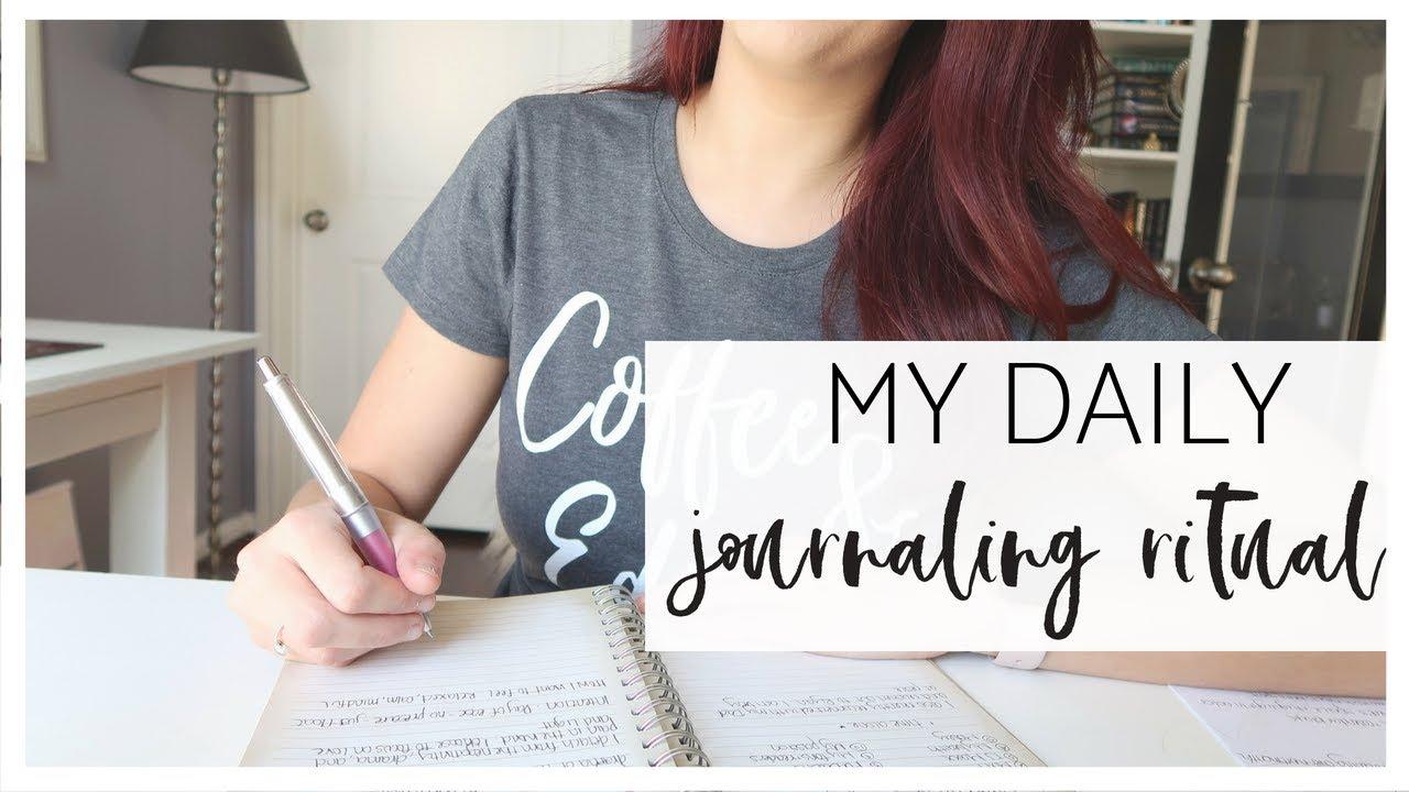 Journaling As Ritual