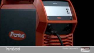 Fronius: TransSteel 3500/5000 Englisch/English(TransSteel stands for extremely easy handling for in steelwelding, easy-to-use tools with intelligent functions are what is needed. Optimally matching ..., 2009-12-23T10:30:29.000Z)