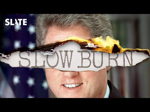Slow Burn: Leon Neyfakh's podcast on Watergate, Bill Clinton's