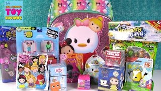 Disney Tsum Tsum Slitherio Trolls Shopkins Roblox Surprise Backpack Toy Opening | PSToyReviews