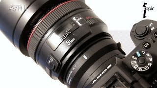 The Sigma MC 11 - EF to E mount converter - Does it work with Canon lenses?