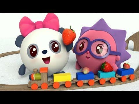МАЛЫШАРИКИ: Оттенки - Обучающие и развивающие мультфильмы - песенки для детей Kids Songs