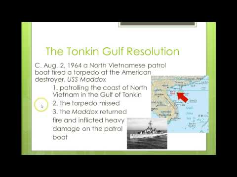 Vietnam: The Tonkin Gulf Resolution