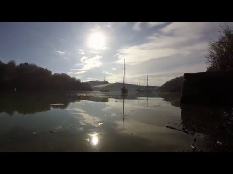 Dreamy River Fal - perfect SUP tour conditions