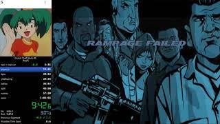 Grand Theft Auto III Any% Speedrun in 1:02:23