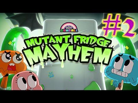 The Amazing World Of Gumball: Mutant Fridge Mayhem GAMEPLAY #2