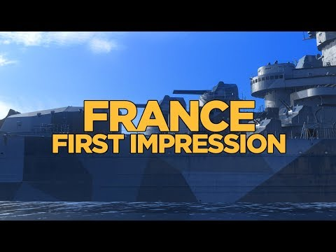 World of Warships - France First Impression