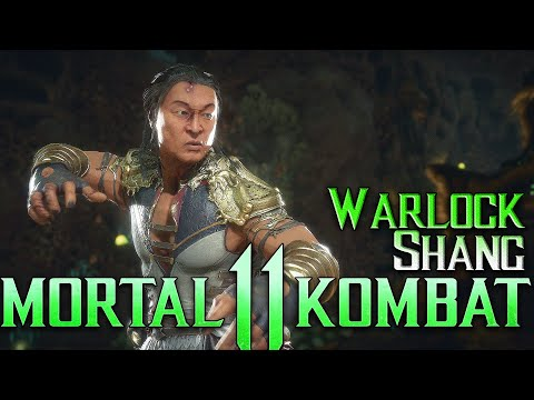 First time playing Warlock | Mortal Kombat 11 Online Kasual | Warlock Shang Tsung Gameplay