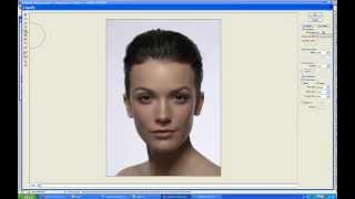 Как уменьшить нос в фотошопе (Photoshop)(Видео урок для новичков, в изучении фотошопа