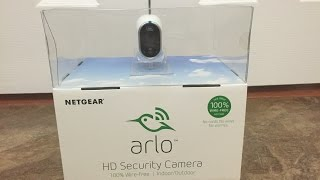 Arlo Smart Home - 1 HD Camera Security System, 100% Wire-Free, Indoor/Outdoor with Night Vision