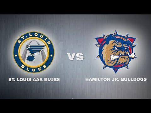 World Hockey Invite Championship Game: Hamilton Jr. Bulldogs VS St. Louis AAA Blues