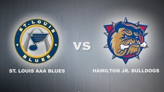 World Hockey Invite Championship Game: Hamilton Jr. Bulldogs VS St. Louis AAA Blues
