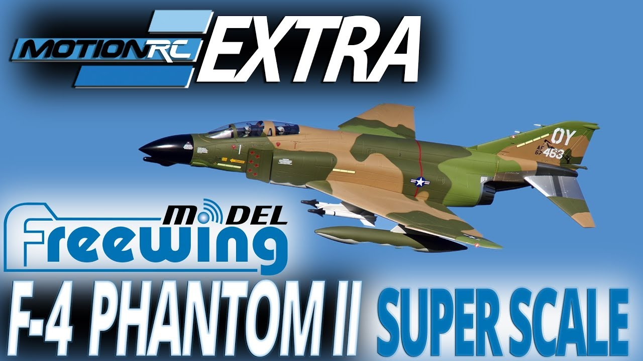 Freewing F-4 Phantom II 90mm Super Scale EDF Jet - Motion RC Announcement