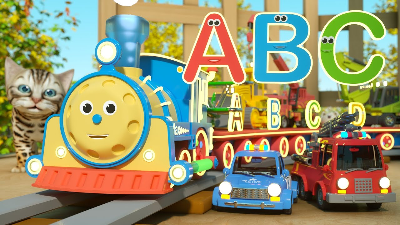 Learn Letters With Max the Glow Train – TOYS Letters and Toys