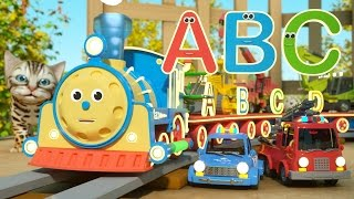 learn letters with max the glow train   toys  letters and toys