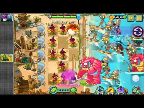 Witch Hazel - Epic Quest: Premium Seeds - Plants vs. Zombies 2
