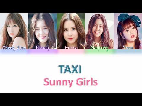 SUNNY GIRLS TAXI Legendado em Pt-Br Color Coded Lyrics [HAN/ROM/PT-BR]