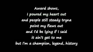 Chipmunk ft Chris Brown - Champion (Lyrics on Screen)